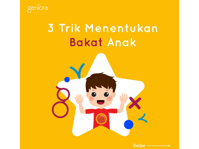 3 Trik Menentukan Bakat Anak