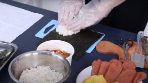 Step 3 Kimbap
